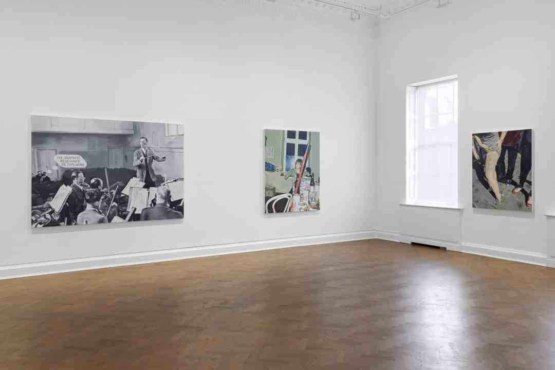 Marcin Maciejowski, exhibition, the Galerie Thaddaeus Ropac in London