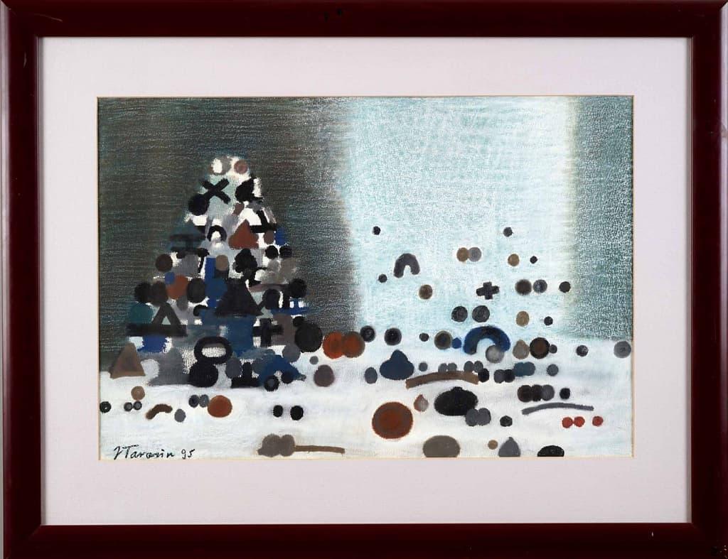 """Jan Tarasin """"Christmas tree"""" by Polski Dom Aukcyjny"""
