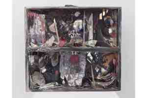 Carolee Schneemann, Controlled Burning Fireplace, 1963–1964, courtesy of the Estate of Carolee Schneemann, Galerie Lelong & Co., Hales Gallery, and P•P•O•W, New York © Carolee Schneemann