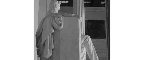 Detail Statue of Abraham Lincoln, Lincoln Memorial, Washington, DC, USA.