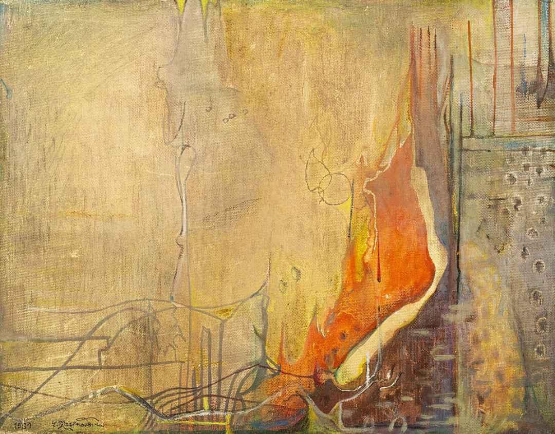 "Erna Rosenstein, ""Cloudy Eye"", 1981."