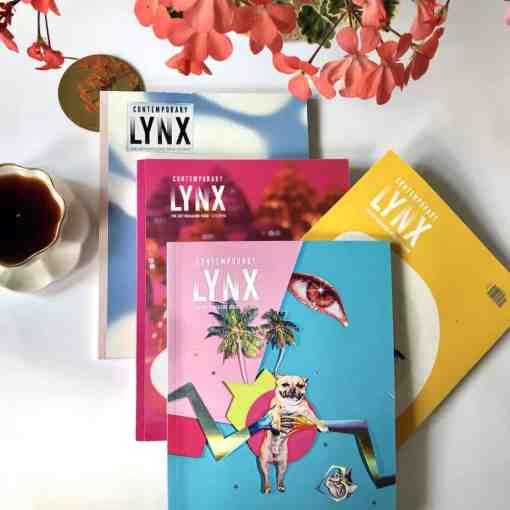 4 issues lynx magazine