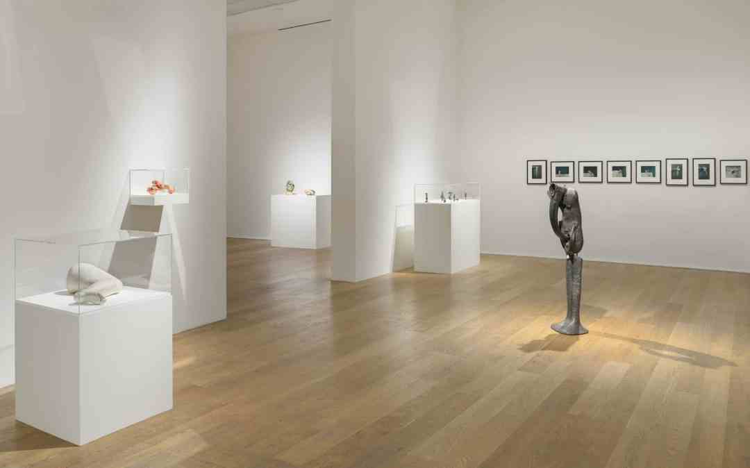 """To Exalt the Ephemeral: Alina Szapocznikow, 1962-1972"", exhibition view, Hauser & Wirth, London, 2020"