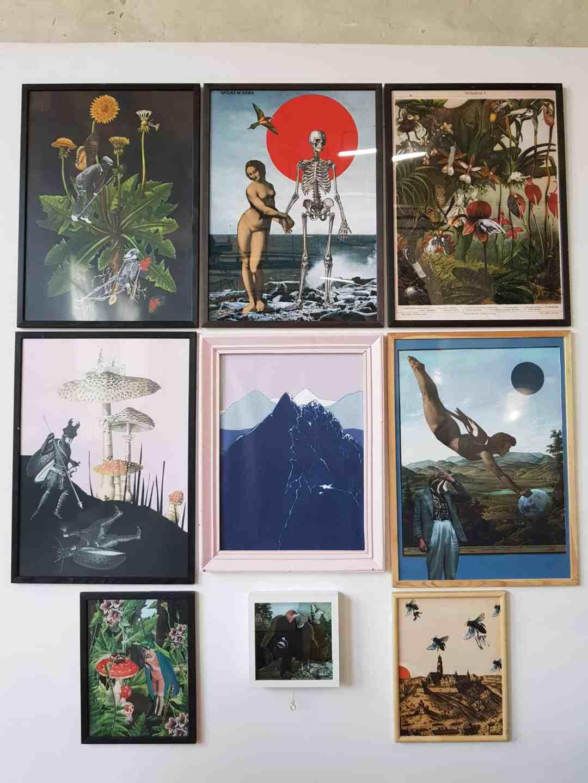 The Blueberrythinks by Jagoda Strączek, poster