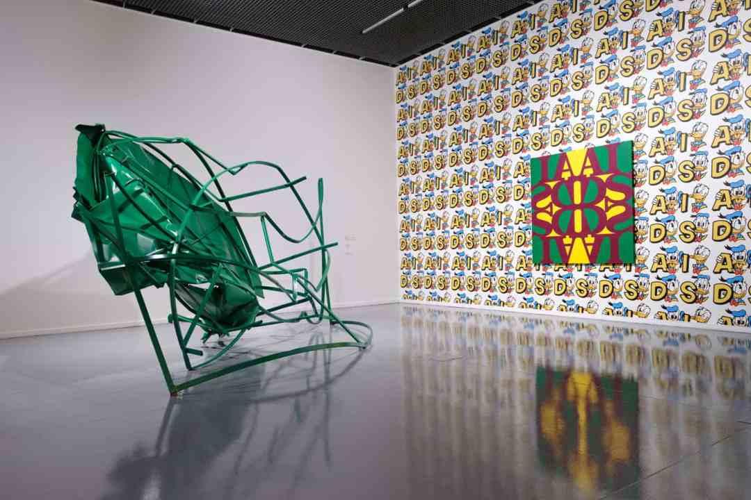 Karol Radziszewski, The Power of Secrets, exhibition view, 2020, photo by Bartosz Górka