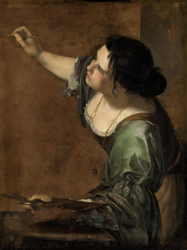 Artemisia Gentileschi, Self-Portrait as the Allegory of Painting, 1638–39, Royal Collection
