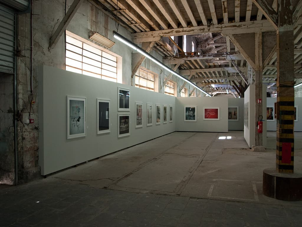 A photography exhibition, Rencontres d'Arles, 2010