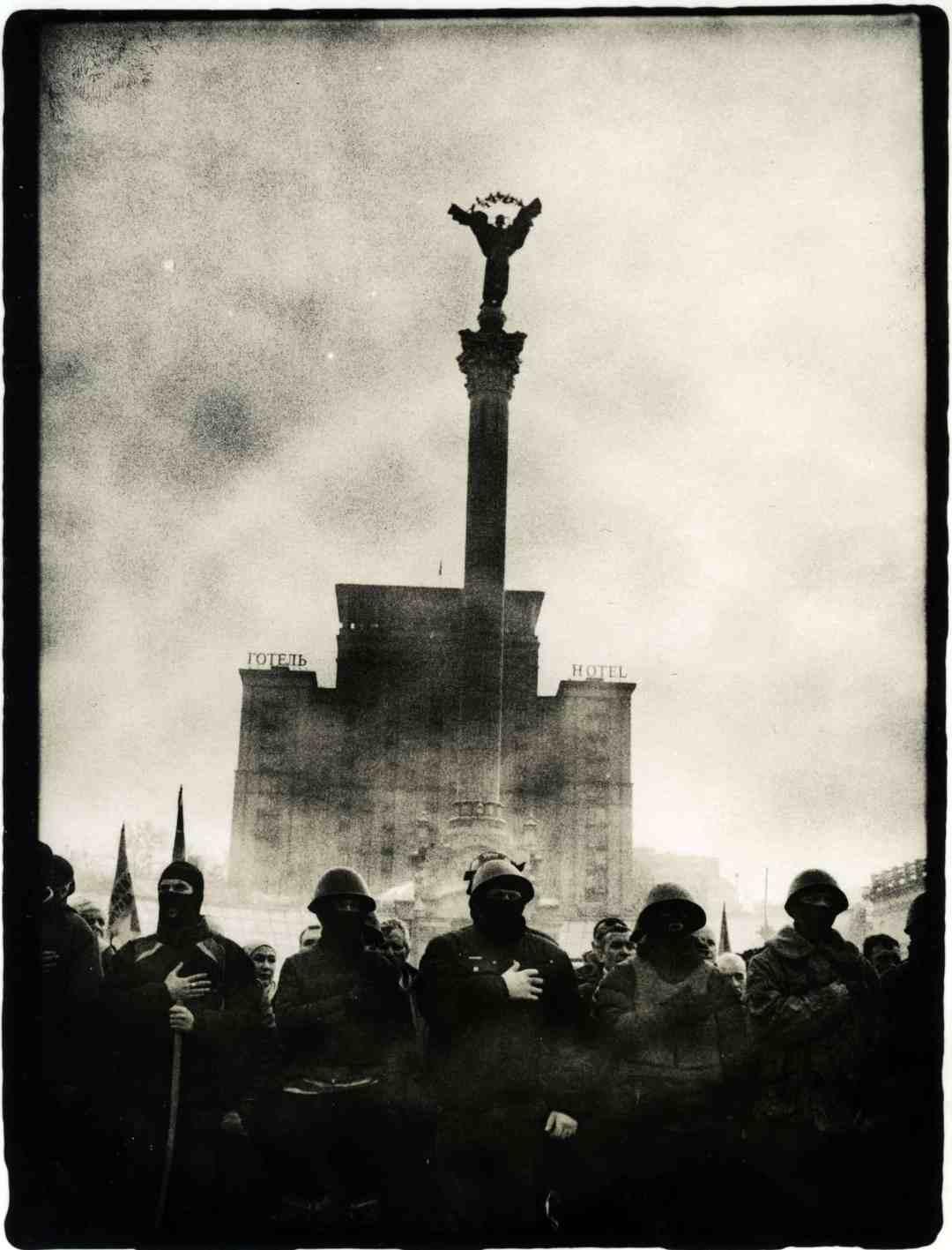"""Serhiy Lebedynskyy, """"Maidan"""", 2014"""