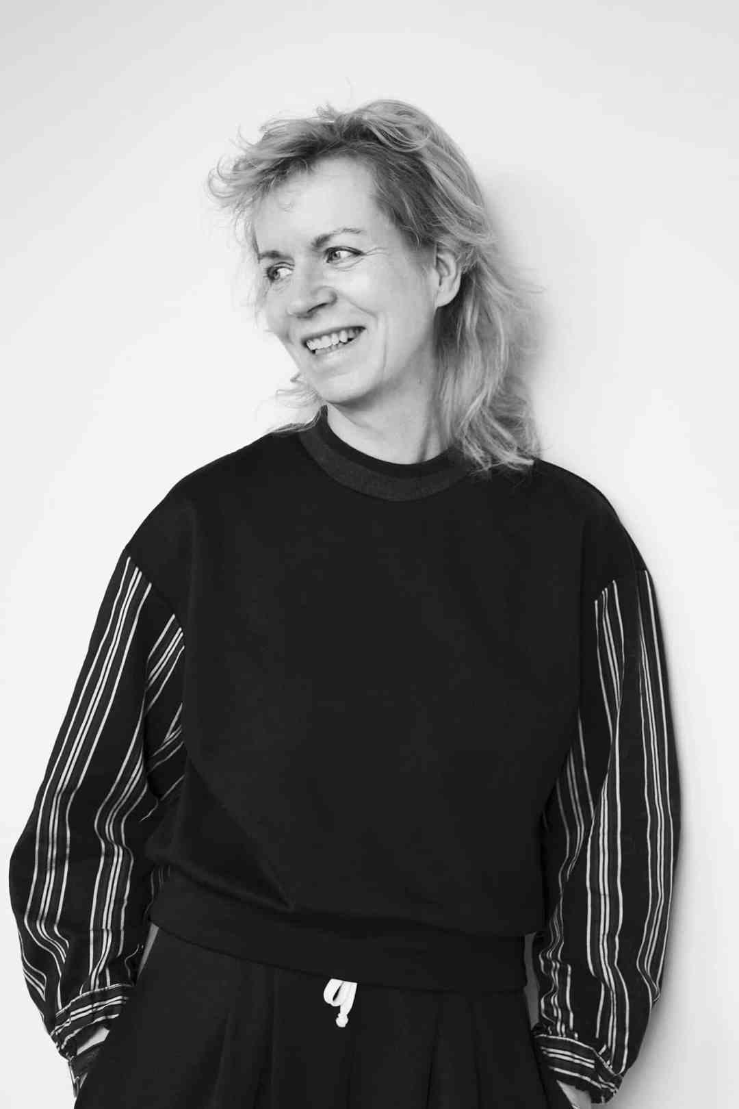 Portrait Katharina Grosse, 2019, Foto: Eric T. White
