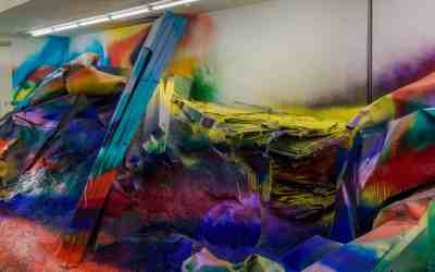 KATHARINA GROSSE: IMMERSED IN COLOUR