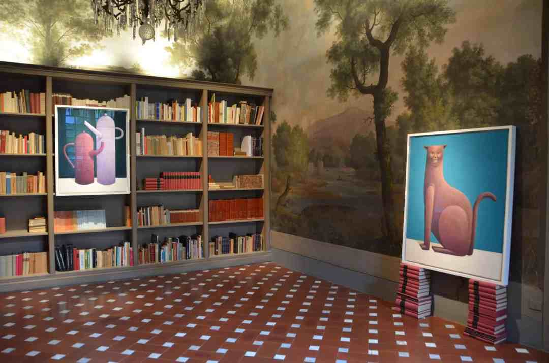 """Villa Antinori, Nicolas Party, art project """"Garden Room"""""""