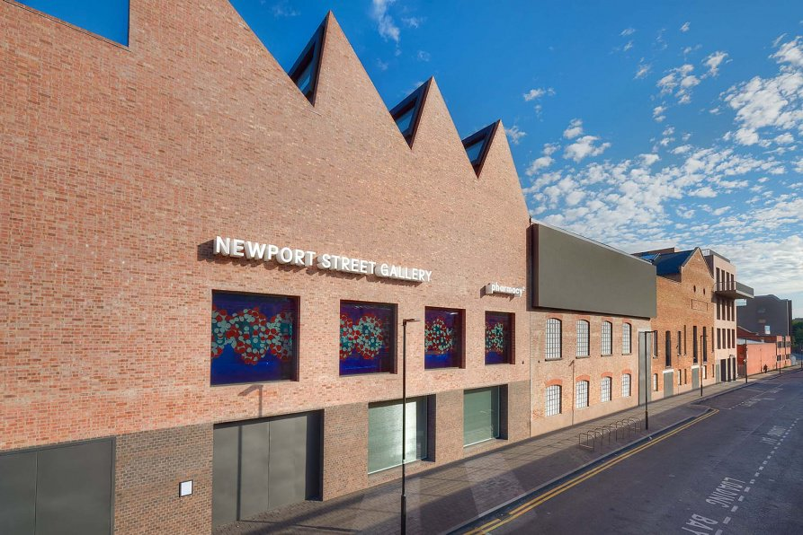 Damien Hirst's Newport Street Gallery, London, Photo Courtesy Newport Street Gallery