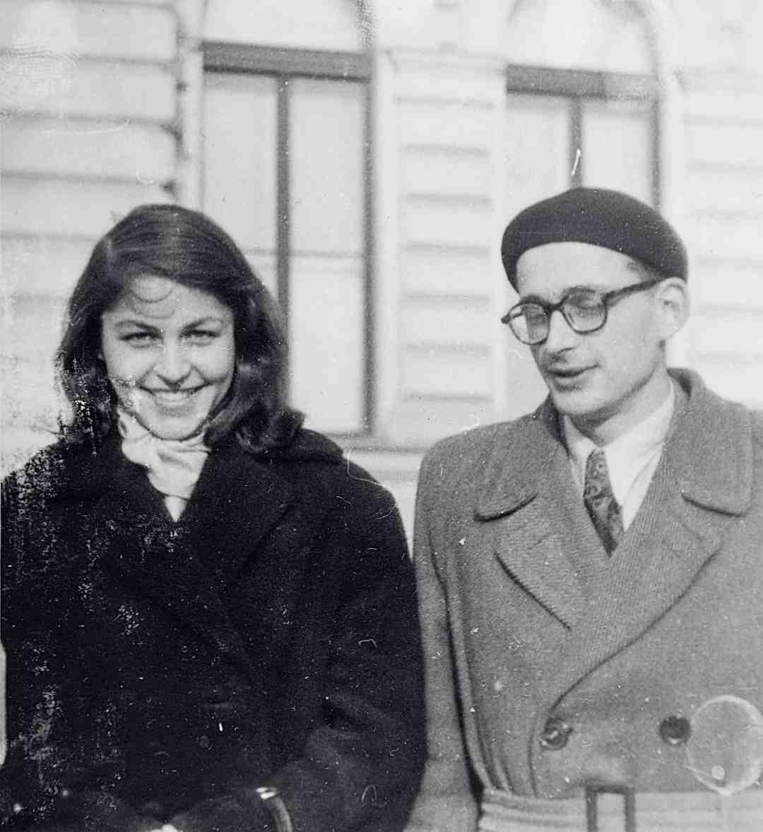 Andrzej Wróblewski and Božena Plevnik (1933–99), later director of the City Gallery in Ljubljana, Slovenia, photo: Barbara Majewska, © Andrzej Wróblewski Foundation