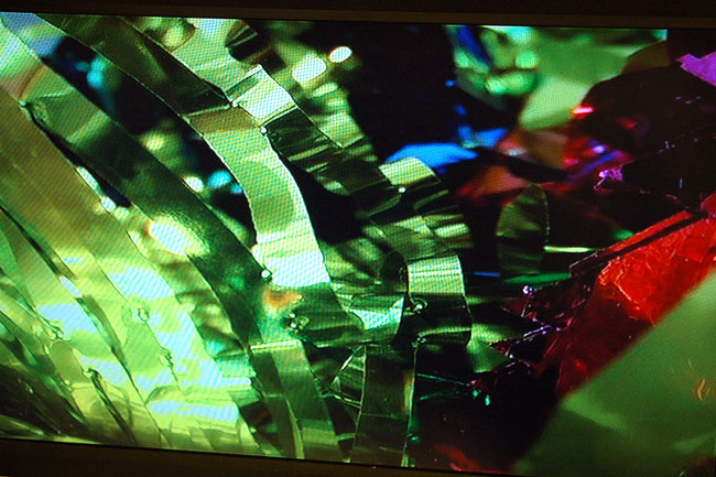 Matthew Lutz-Kinoy Studio Danse 2006 video [large detail of still from video installation]