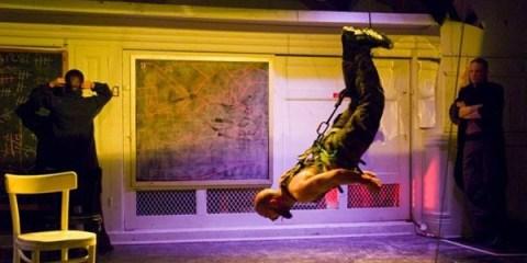 "Pictured Above: Daniel Irizarry - Twice a Resident Artist in ""Woyzeck"""