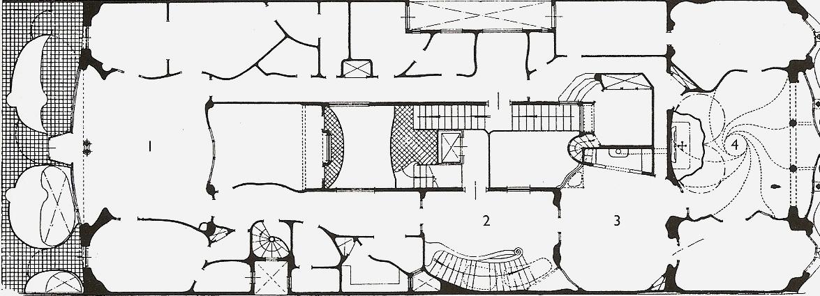 Casa Mila Plans