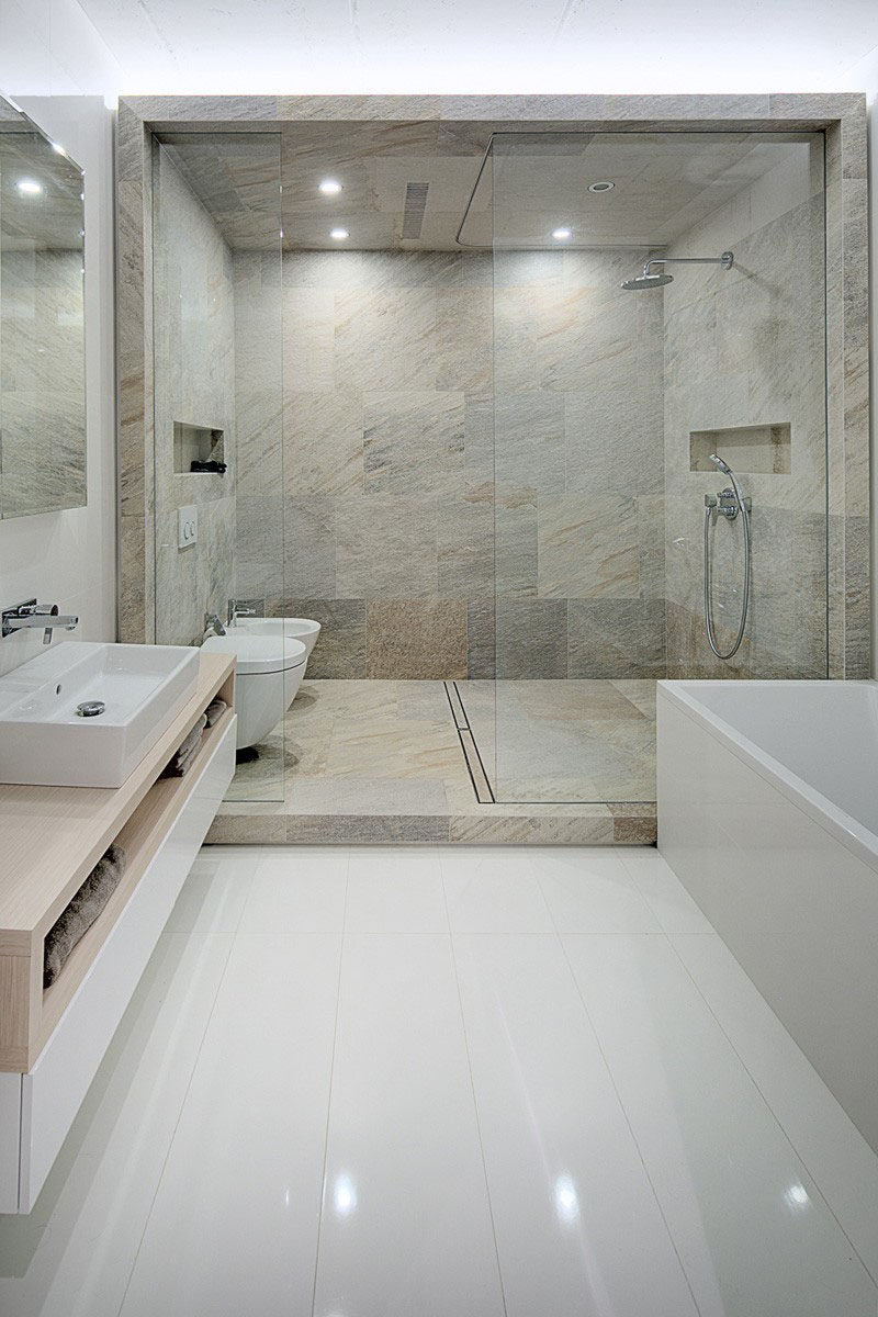 Built In Bathroom Shelves 12 Design Ideas For Including Built In Shelving In Your Shower