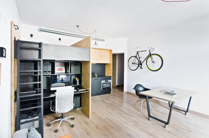 This Small Apartment Has Been Designed As A Live/work