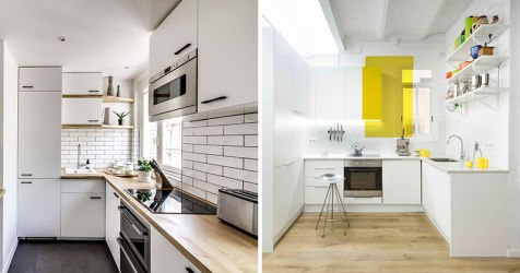 space kitchen kitchens modern most designs decor apartment layout tiny apartments area living simple shape