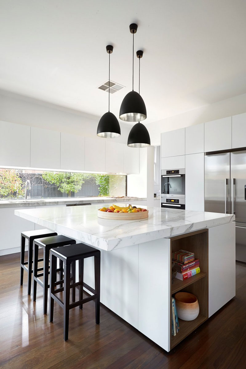 Kitchen Design Idea  White, Modern And Minimalist