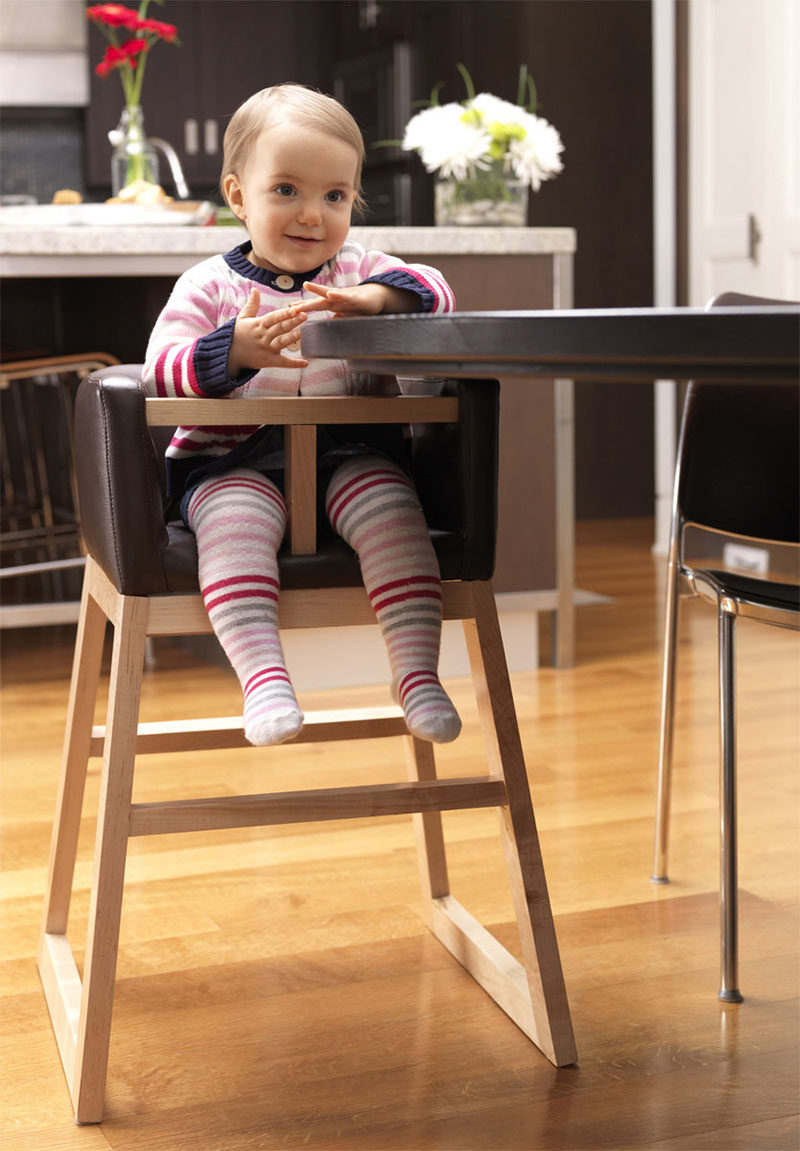Wooden High Chairs For Babies 14 Modern High Chairs For Children Contemporist