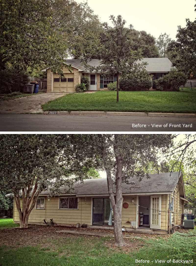 Ranch House Additions Before And After : ranch, house, additions, before, after, Ranch-Style, Texas, Given, Contemporary, Update