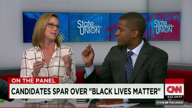 White CNN Panelists Tell Black Man That #BlackLivesMatter Hurts White People's Feelings