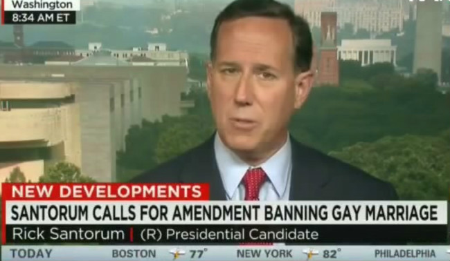 "CNN's Chris Cuomo To Rick Santorum: ""Why Aren't You More Like Your Pope"" On Gay Marriage?"