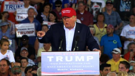 """""""White Power!"""" Apparently, Donald Trump Held A White Supremacy Rally In Alabama Friday Night"""