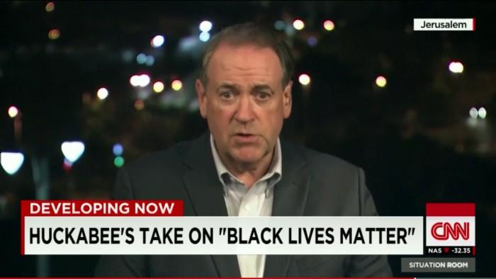 Mike Huckabee Helpfully Whitesplains How MLK Would Feel About #BlackLivesMatter