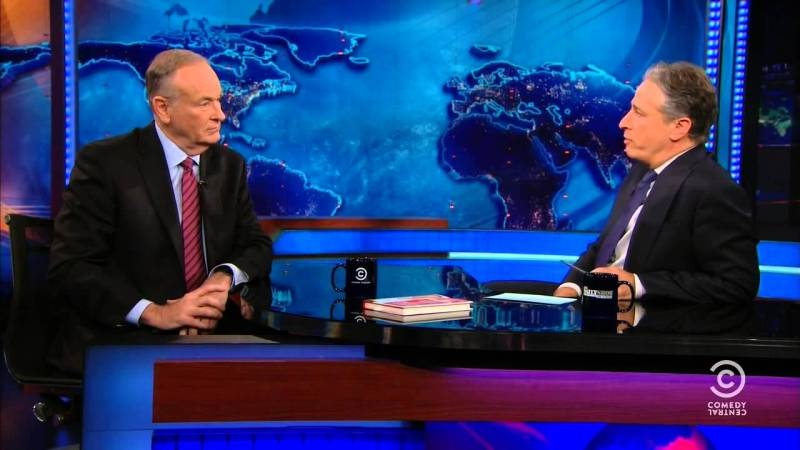 Bill O'Reilly's 'Tribute' To Jon Stewart Is Pretty Much The Most Bill O'Reilly Thing Ever