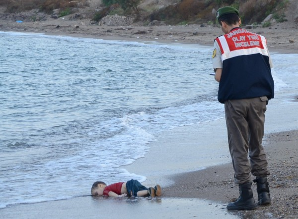 Will This Emotionally Powerful Image Change Europe's Attitude Towards Refugees?