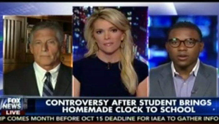 """Fox News' Mark Fuhrman: """"I Don't Feel Sorry For Ahmed"""" For Getting Arrested For Making A Clock"""