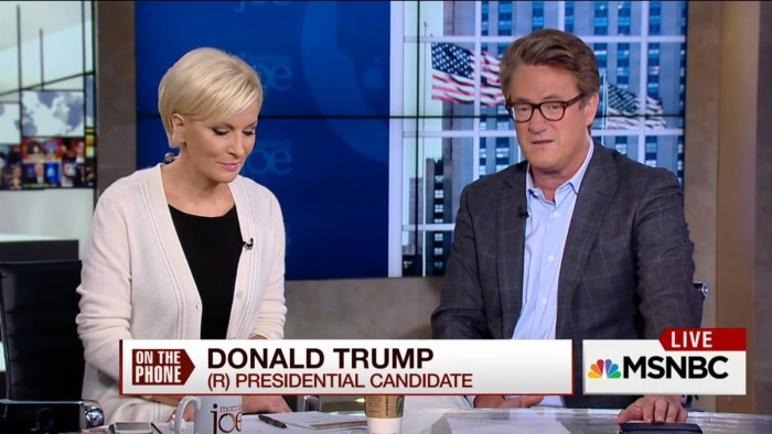 NBC News Employees Are Pissed Off Over Joe Scarborough's Bromance With Trump