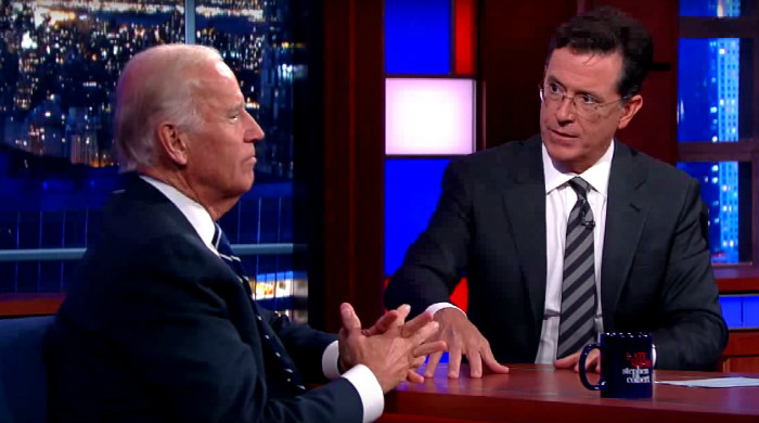 Will Joe Biden's Genuinely Moving Interview With Stephen Colbert Push Him To Run?