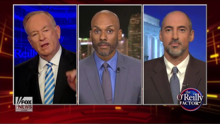 Old Angry White Guy Bill O'Reilly Directly Compares #BlackLivesMatter To Nazi Party