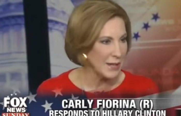 Proven Liar Carly Fiorina Claims Hillary Will Lie As Long As She Can Get Away With It