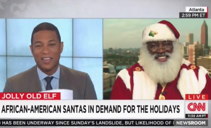 CNN's Don Lemon Interviews Black Santa, Throws Shade At Fox News' Megyn Kelly