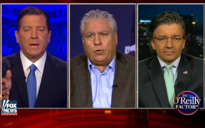 """Fox News' Eric Bolling Chastises Guest, Says """"It's About Time"""" Muslims Condemn ISIS"""