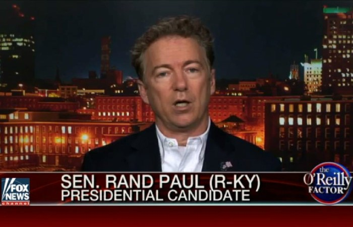 With Poll Numbers Scraping The Bottom, Rand Paul Tries To Whine Himself Into CNN Debate