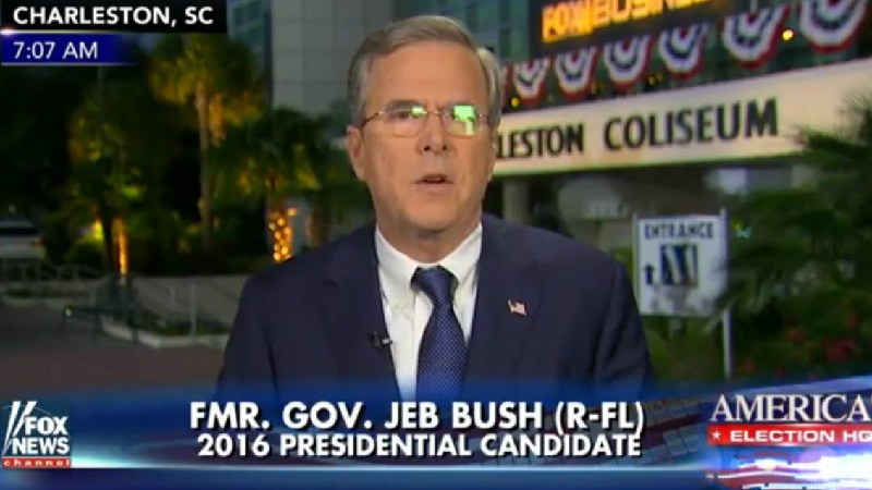 """Jeb! Desperately Panders To Fox News Viewers: """"I Only Get My News From Fox & Friends"""""""