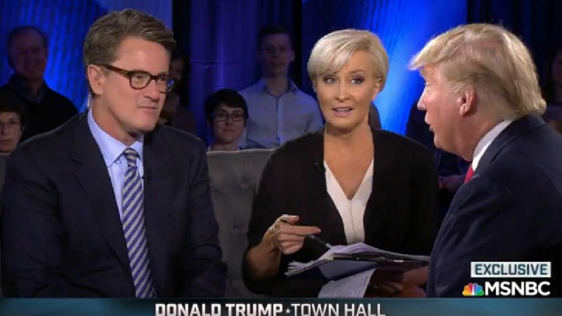 So, Yeah, That Morning Joe/Trump Town Hall Was A Disgraceful Waste Of Time