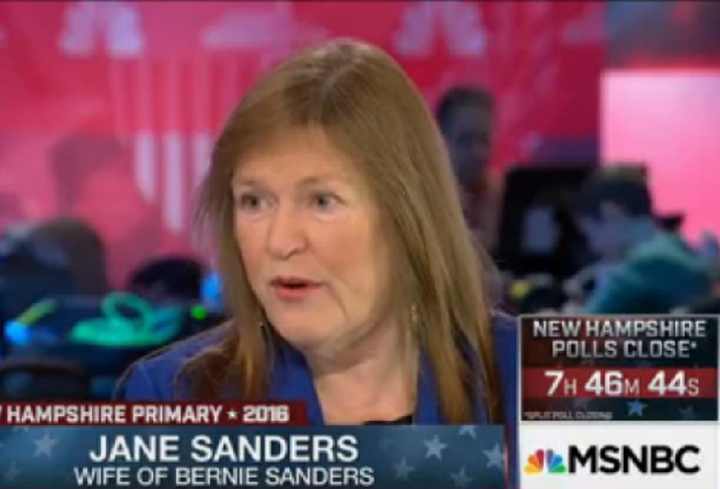 """Bernie Sanders' Wife Comes To Hillary's Defense After Donald Trump's """"Evil"""" Comment"""