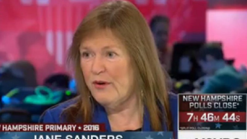 "Bernie Sanders' Wife Comes To Hillary's Defense After Donald Trump's ""Evil"" Comment"