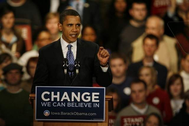 Iowa Caucus 2008: The Launch Of Barack Obama