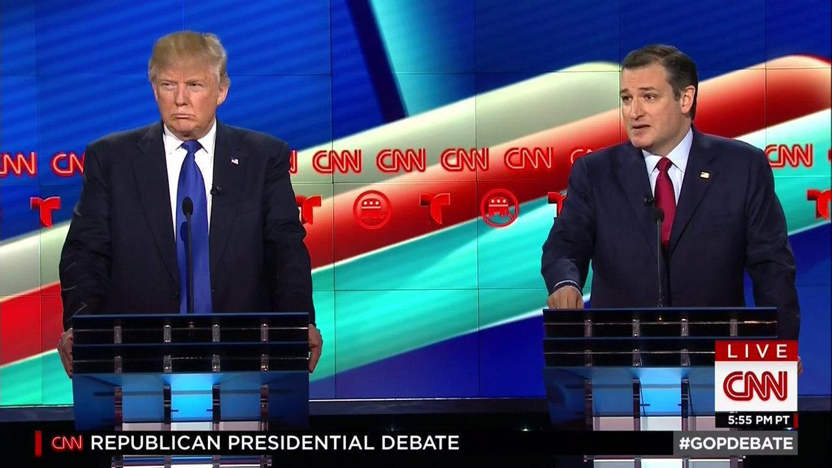 We Learned One Thing From CNN's Debate — Wolf Blitzer Is Ted Cruz's Personal Bitch