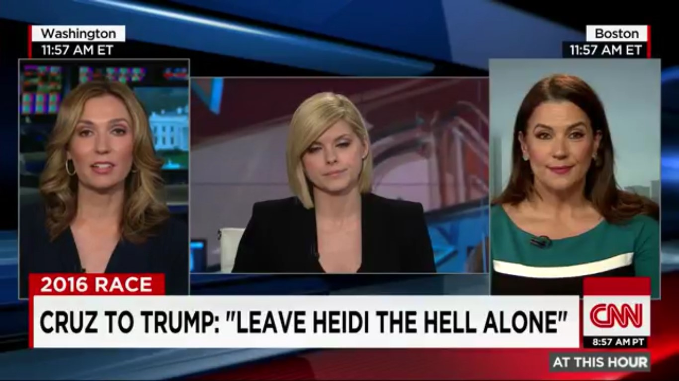So, Yeah, A Trump Supporter Just Accused A CNN Contributor Of Banging Ted Cruz