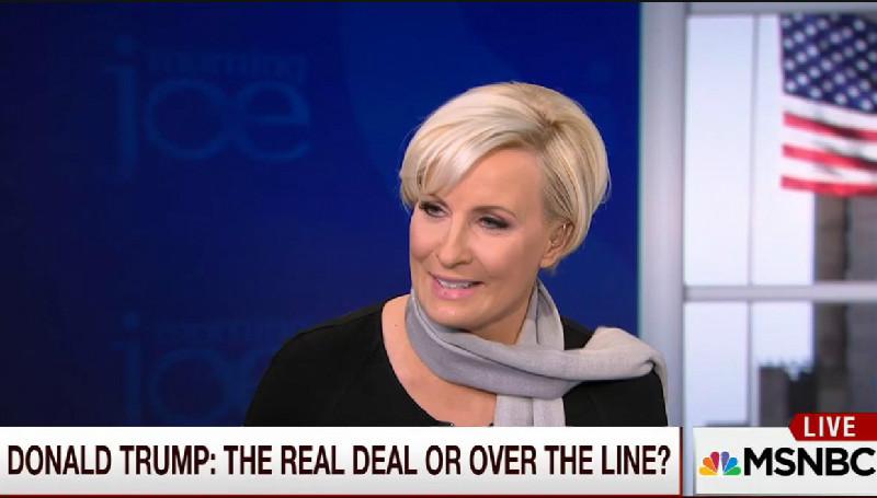 "Morning Joe's Mika Brzezinski Says Trump Critics Suffer From ""Trump Derangement Syndrome"""
