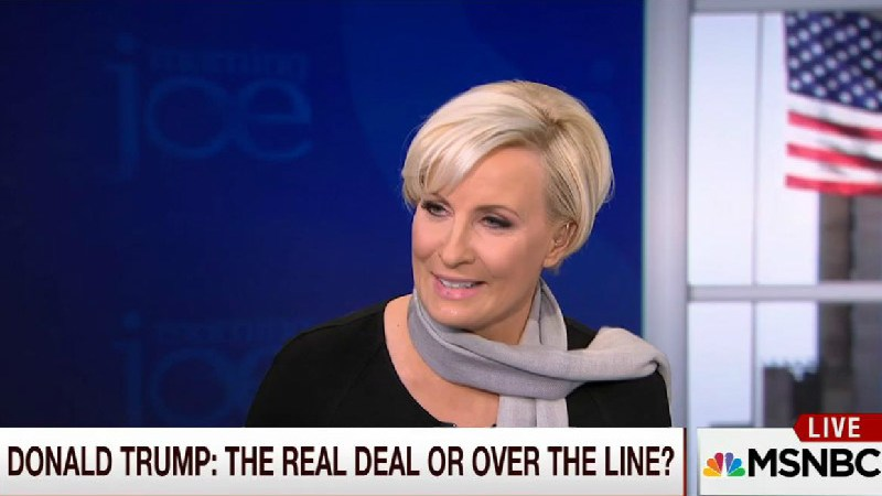 "Morning Joe's Mika Brzezinski Says Trump Critics Suffer From ""Trump Derangement Syndrome"""