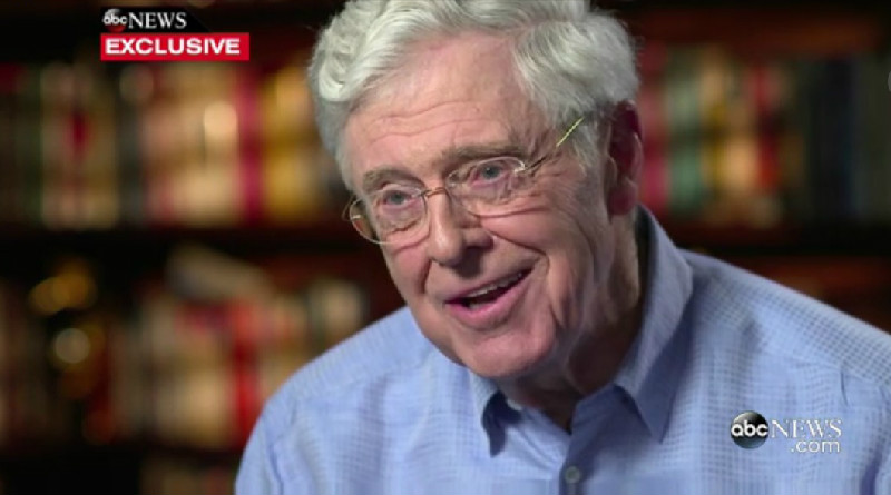 Trump And Cruz Suck So Much That Charles Koch Might Support Hillary Clinton For President